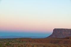 заход солнца Аризоны Стоковое Изображение