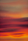 заход солнца взволнованности Стоковые Фотографии RF