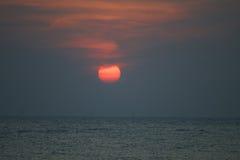 заход солнца восхода солнца Стоковые Фото