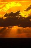 заход солнца восходов солнца Стоковое Изображение RF