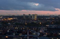 Заход солнца в Гааге Стоковые Фотографии RF