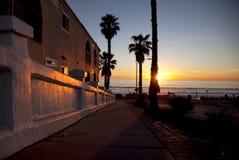 заход солнца завершенности Стоковая Фотография RF