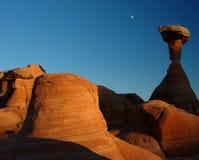 заход солнца зюйдвеста Стоковая Фотография RF
