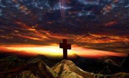 заход солнца идола стоковое изображение rf
