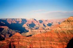 заход солнца каньона грандиозный Стоковые Изображения