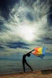заход солнца красотки Стоковые Фотографии RF