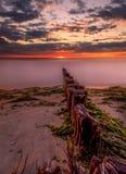 Заход солнца Лонг-Айленд Стоковые Фотографии RF