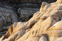 заход солнца момента неплодородных почв Стоковые Изображения RF