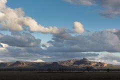 Заход солнца над горами национального парка Grampian, Austral Стоковое фото RF