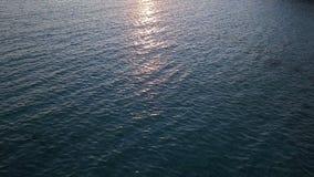 Заход солнца на море, океане