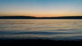 Заход солнца на Gallipoli видеоматериал