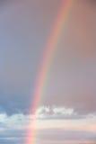 заход солнца неба радуги Стоковые Изображения RF