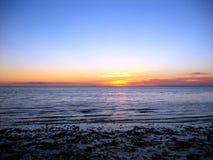 заход солнца трески плащи-накидк 02 Стоковое фото RF