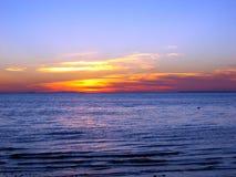 заход солнца трески плащи-накидк 03 Стоковые Изображения RF