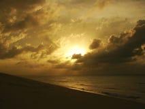 заход солнца 02 Стоковое Фото