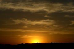 заход солнца 03 Стоковые Фото