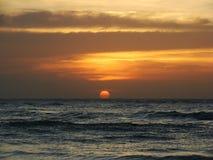 заход солнца 04 Стоковые Изображения