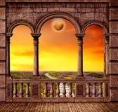 заход солнца 07 Стоковые Изображения