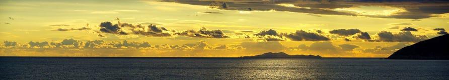 Заход солнца 19 стоковое фото rf