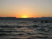 заход солнца 4 Стоковые Изображения RF