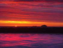 заход солнца 9 изображений Стоковое Изображение RF