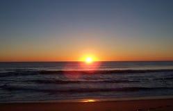 заход солнца 9 Стоковые Фотографии RF