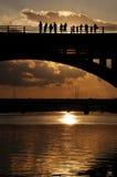 заход солнца austin Стоковое Изображение