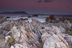 заход солнца bettys залива Стоковое Фото