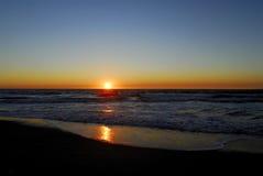 заход солнца california Стоковые Фотографии RF