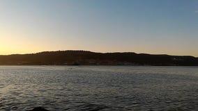 Заход солнца Gallipoli видеоматериал