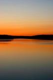 заход солнца murphy бухточки Стоковые Фото