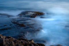 заход солнца oahu Стоковые Фотографии RF