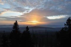 заход солнца rachel Стоковые Изображения RF