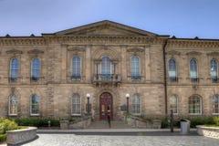 Захолустное здание суда обид, в прошлом старый здание муниципалитет Guelph внутри стоковые фото
