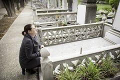 Захоронение девушки Стоковая Фотография RF