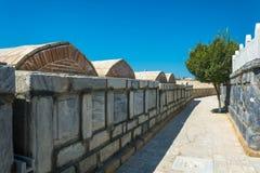 Захоронение эмиров Бухары, Бухары стоковое изображение rf