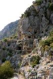 Захоронение Lycian Стоковое Изображение