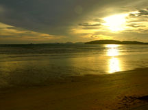 заход солнца мистика ii Стоковые Фото