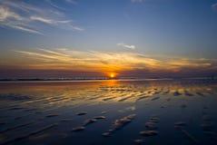 Заход солнца Флорида Стоковое Изображение