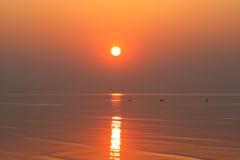 заход солнца 3 Стоковые Фотографии RF