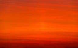 заход солнца Балтийского моря предпосылки Стоковые Изображения