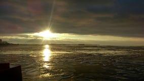 Заход солнца весны Стоковое Изображение RF