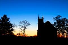 Заход солнца воскресенья Стоковые Фото