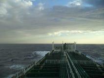 Заход солнца в Атлантике Стоковые Изображения