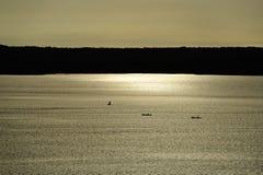Заход солнца в Колумбии Стоковое фото RF