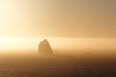 Заход солнца в Орегоне Стоковая Фотография RF