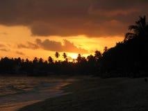 Пляж Unawatuna Стоковое Изображение