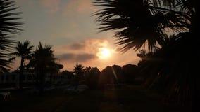 Заход солнца в altinkum 4 стоковая фотография rf