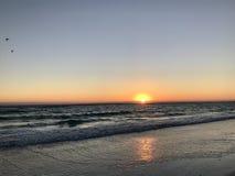 Заход солнца ключа Lido Стоковое Фото
