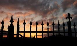 Заход солнца Майкл Angelo Стоковое Изображение